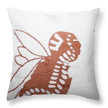 Isaiah - Tile Throw Pillow by Gloria Ssali