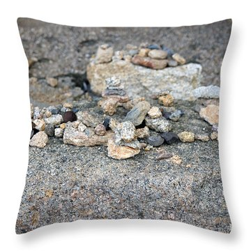 Throw Pillow featuring the photograph Ishi by Cassandra Buckley