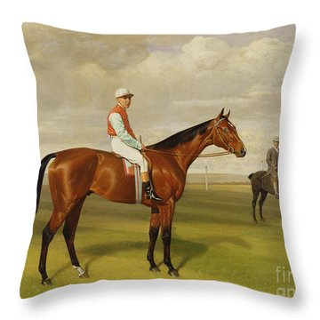 Isinglass Winner Of The 1893 Derby Throw Pillow