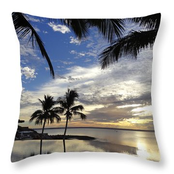 Isla Infinity Throw Pillow