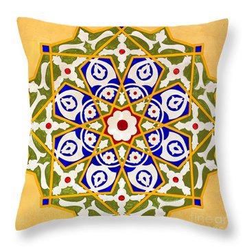 Islamic Art 09 Throw Pillow by Antony McAulay