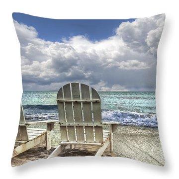 Island Attitude Throw Pillow