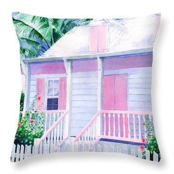 Island Charm Throw Pillow
