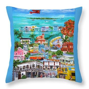 Island Daze Throw Pillow