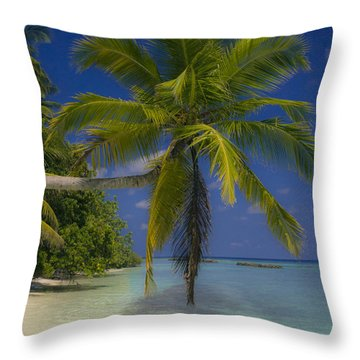 Island Dream Throw Pillow