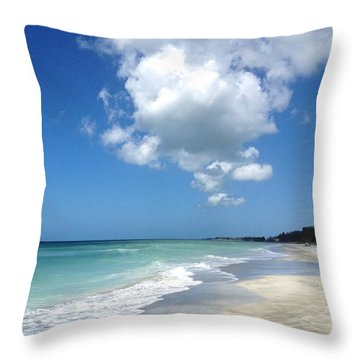 Throw Pillow featuring the photograph Island Escape  by Margie Amberge
