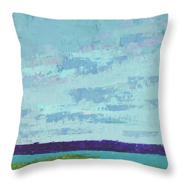 Island Estuary Throw Pillow by Gail Kent