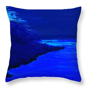 Island Throw Pillow by Kume Bryant