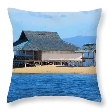 Island Living Throw Pillow