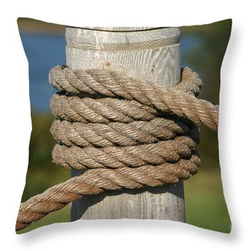 Island Ropework Throw Pillow