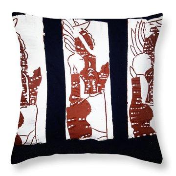 Islands Of Light Throw Pillow by Gloria Ssali