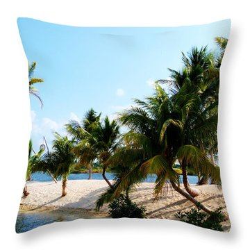 Throw Pillow featuring the photograph Isle @ Camana Bay by Amar Sheow