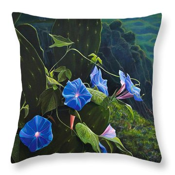 Isle Of Capri Throw Pillow