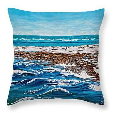 Isle Of Innocence Throw Pillow