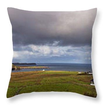 Isle Of Skye Pano Throw Pillow
