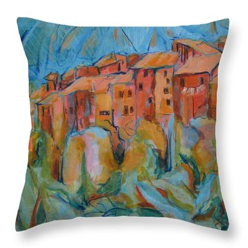 Isola Di Piante Small Italy Throw Pillow