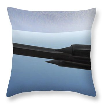 Ispy Throw Pillow by Mike McGlothlen