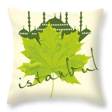 Capital Throw Pillows