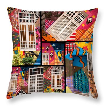 Istanbul Colour 08 Throw Pillow by Rick Piper Photography