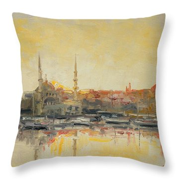 Istanbul- Hagia Sophia Throw Pillow