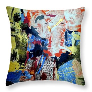 Istanbul Throw Pillow by Susan Kubes