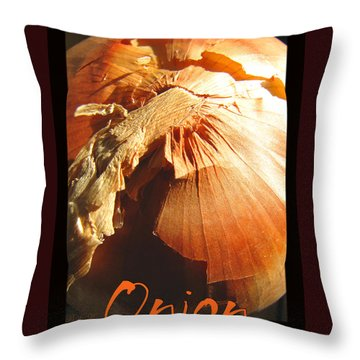 Throw Pillow featuring the photograph It Brings Tears To My Eyes by Brooks Garten Hauschild