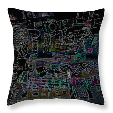 It Is A Conversation - It Is An Intervention  Throw Pillow