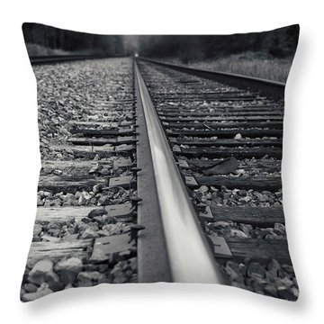 Throw Pillow featuring the photograph It Is Coming by Lisa Knechtel
