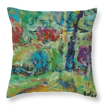 It Is Drizzling Throw Pillow by Ivan Filichev
