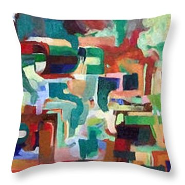 It Is Fitting To Feel The Pain Of Others Throw Pillow by David Baruch Wolk