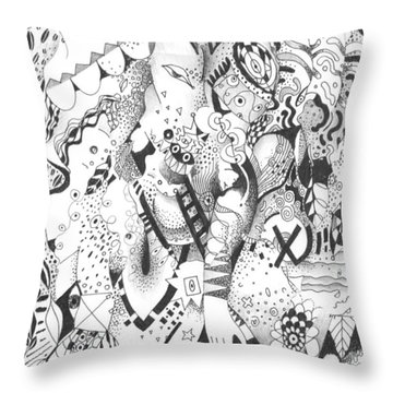 It Is Never Enough Throw Pillow by Helena Tiainen