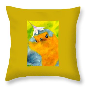 Tis Spring Throw Pillow