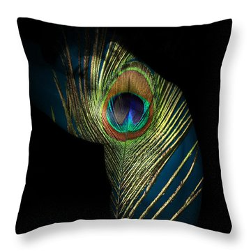 It Not The Time To Leave Throw Pillow by Mark Ashkenazi