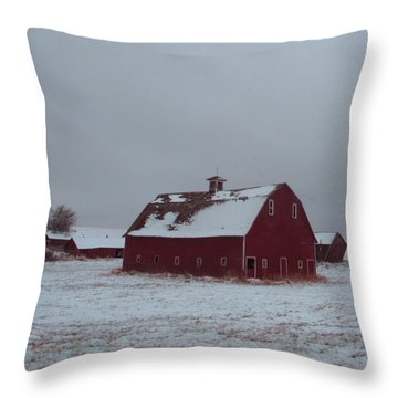 It Stood Forever Throw Pillow by Abigail Ellison
