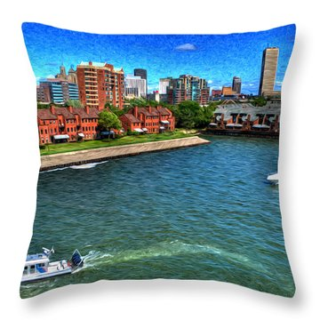 It Was A Perfect Day... Throw Pillow