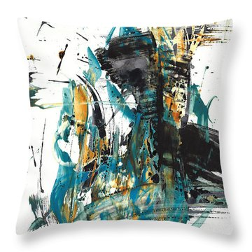 It Went That Way 135.090710 Throw Pillow