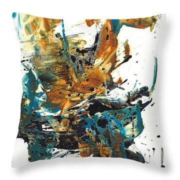 It Went This Way 136.090710 Throw Pillow