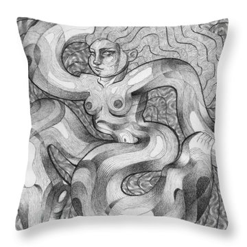 It Wiggles Throw Pillow