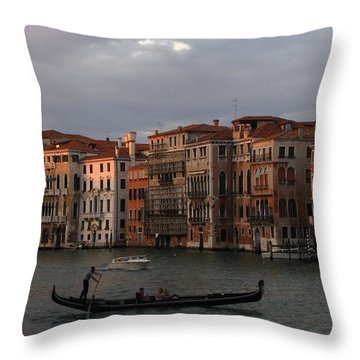 Italian Evening Throw Pillow
