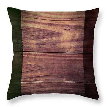 Italian Flag I Throw Pillow