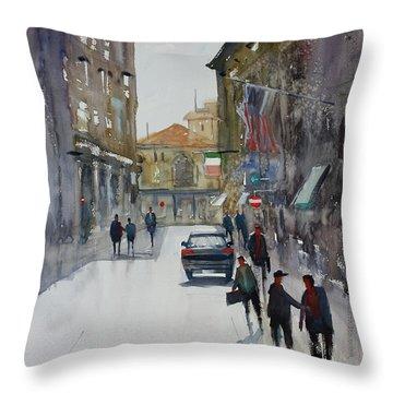 Italian Impressions 1 Throw Pillow by Ryan Radke