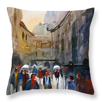 Italian Impressions 5 Throw Pillow
