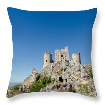 Italian Landscapes - Forgotten Ages Throw Pillow