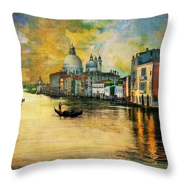 Italy 01 Throw Pillow by Catf
