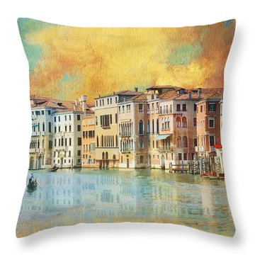 Italy 02 Throw Pillow by Catf