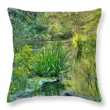 Itchetucknee Springs 01 Throw Pillow