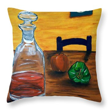 It's 2 Oclock Somewhere Throw Pillow