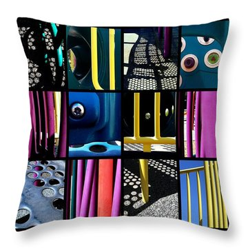 Its A Jungle Gym Out There Throw Pillow