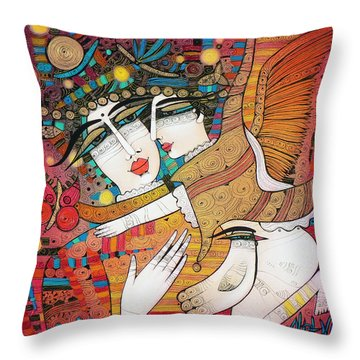 It's A Kind Of Magic... Throw Pillow