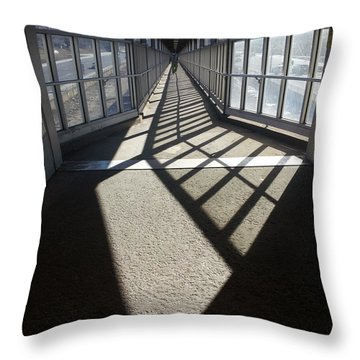 It's A Long Way To The Top Throw Pillow